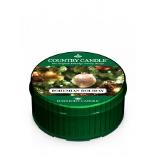 Country Candle BOHEMIAN HOLIDAY Daylight świeca zapachowa 35 g