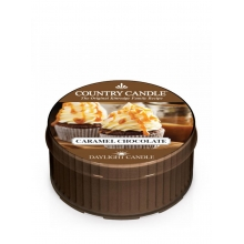 Country Candle CHOCOLATE CARAMEL Daylight świeca zapachowa 35 g