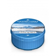 Country Candle ALPINE RETREAT Daylight świeca zapachowa 35 g