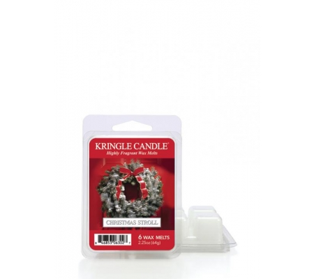 Kringle Candle CHRISTMAS STROLL wosk zapachowy 64g